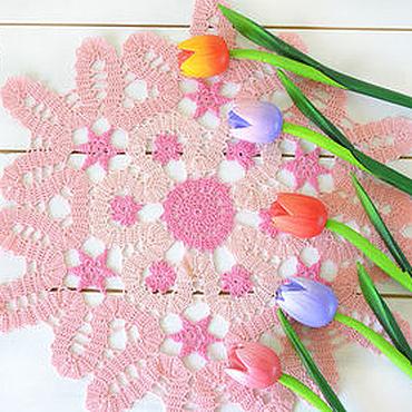 Для дома и интерьера handmade. Livemaster - original item Knitted cloth Hydrangea. Handmade.
