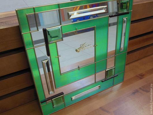 """Часы для дома ручной работы. Ярмарка Мастеров - ручная работа. Купить Настенные часы """"Геометрия времени"""". Handmade. Часы настенные"""