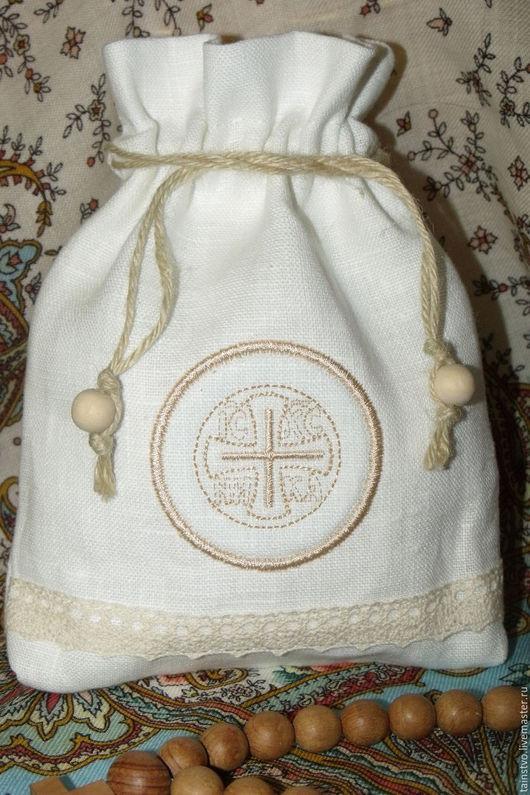 мешочек для просфор подарок на крестины подарок на рождество рождественский подарок