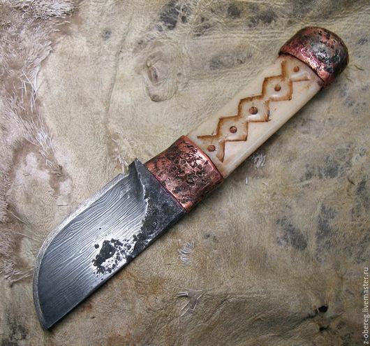 Обереги, талисманы, амулеты ручной работы. Ярмарка Мастеров - ручная работа. Купить Нож Волчок, нашейный. Handmade. Нож, медведь