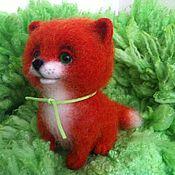 Куклы и игрушки ручной работы. Ярмарка Мастеров - ручная работа Хитрая, рыжая лисичка. Handmade.