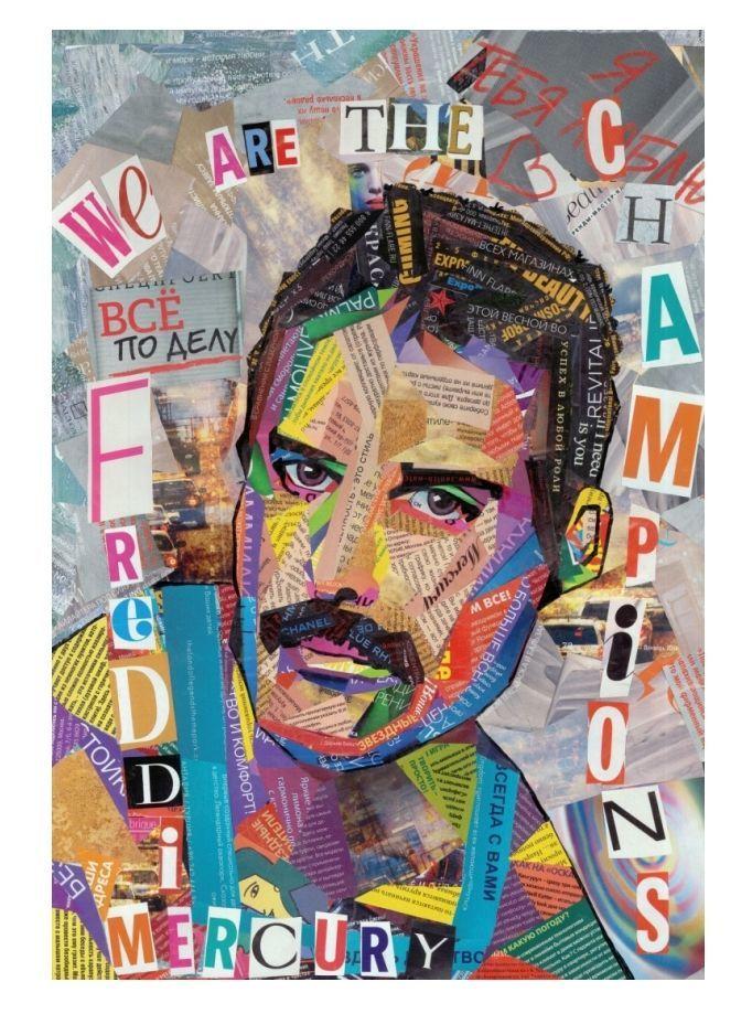 Авторская открытка Фредди Меркьюри(коллекционная и для посткроссинга), Открытки, Санкт-Петербург,  Фото №1