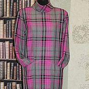 Одежда handmade. Livemaster - original item Dress in a cage