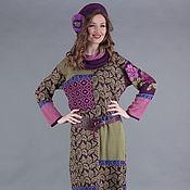 Одежда ручной работы. Ярмарка Мастеров - ручная работа Дизайнерское платье со снудом. Handmade.