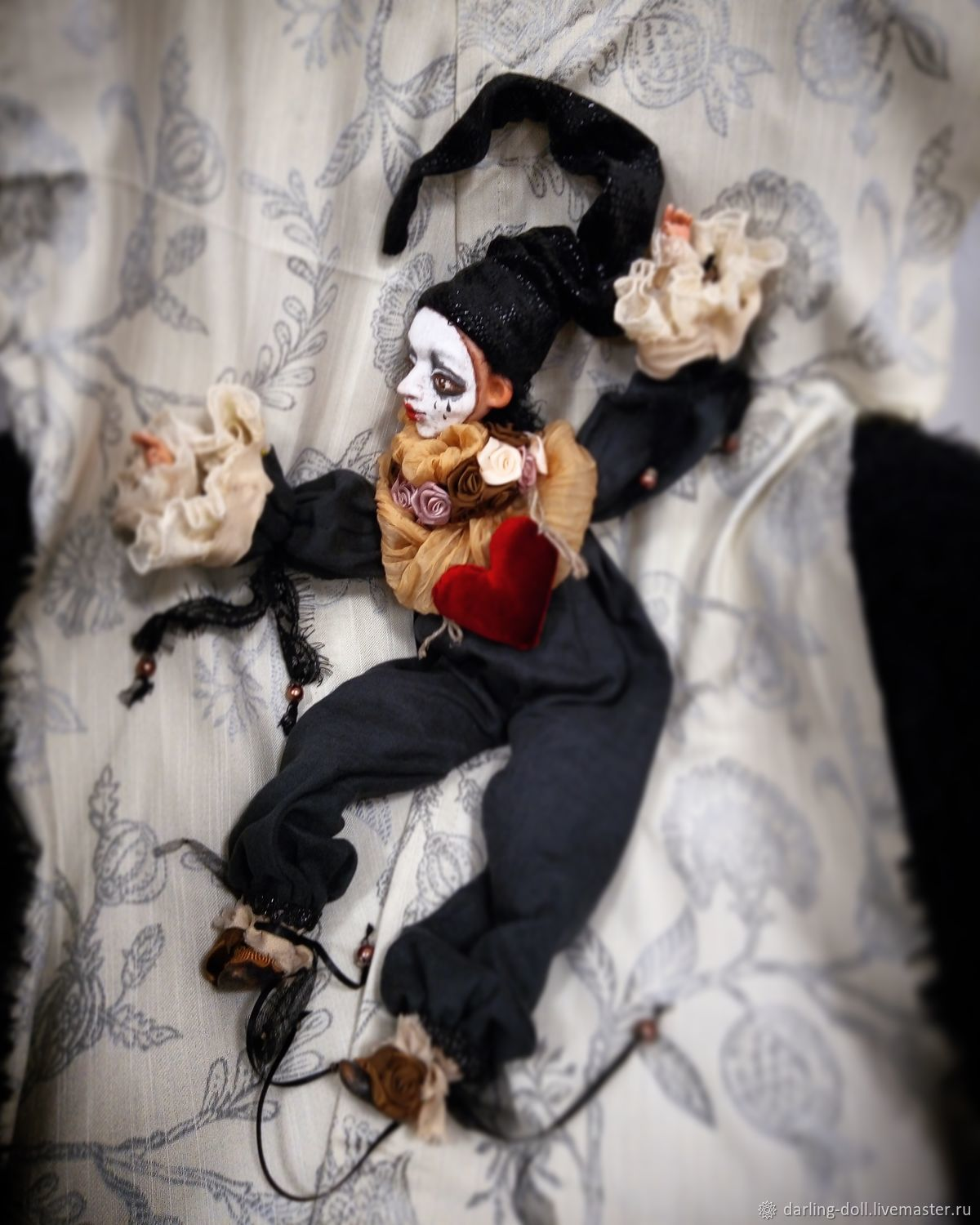 Pierrot waiting, Boudoir doll, Kazan,  Фото №1