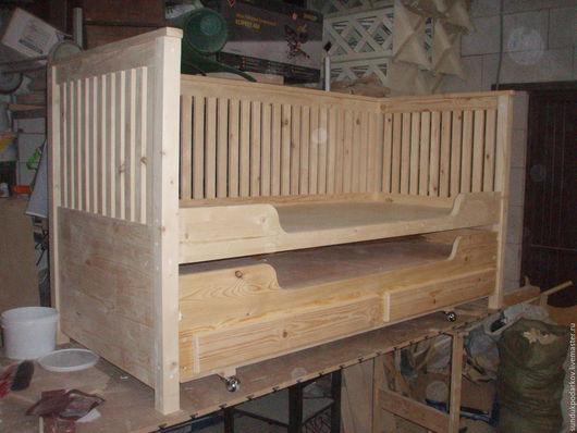 Мебель ручной работы. Ярмарка Мастеров - ручная работа. Купить Кровать детская. Handmade. Белый, дети, ручная работа, дерево