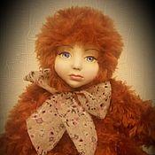 """Куклы и игрушки ручной работы. Ярмарка Мастеров - ручная работа Тедди-долл """"Рыжуля"""". Handmade."""