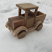 Куклы и игрушки ручной работы. Ярмарка Мастеров - ручная работа Деревянная игрушка Автомобиль. Handmade.