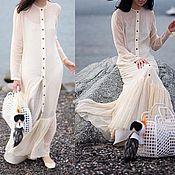 Одежда handmade. Livemaster - original item Chiffon blouse. Handmade.