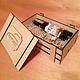 Декупаж и роспись ручной работы. Ящик для подарков. WOODING  (Вудинг). Ярмарка Мастеров. Ящик для вина, заготовки для декупажа, корпоративные подарки
