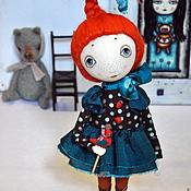 """Куклы и игрушки ручной работы. Ярмарка Мастеров - ручная работа """"Оранжевое лето"""". Handmade."""