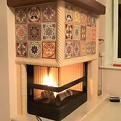 Для дома и интерьера handmade. Livemaster - original item Fireplace Arabesque. Handmade.