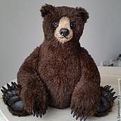 """Куклы и игрушки ручной работы. Ярмарка Мастеров - ручная работа Медведь """"Браун"""" 22 см.. Handmade."""