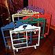 Манекены ручной работы. Ярмарка Мастеров - ручная работа. Купить Цветная Стенд-подставка для украшений большая. Handmade. Разноцветный