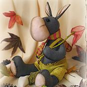 Куклы и игрушки ручной работы. Ярмарка Мастеров - ручная работа Ослик с розовым сачком. Handmade.