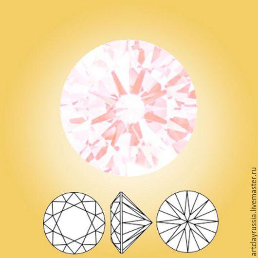 Для украшений ручной работы. Ярмарка Мастеров - ручная работа. Купить Нанокристалл. Опал розовый. 2 мм. 10 шт.. Handmade.