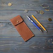 Канцелярские товары ручной работы. Ярмарка Мастеров - ручная работа Пенал для ручек и карандашей. Handmade.