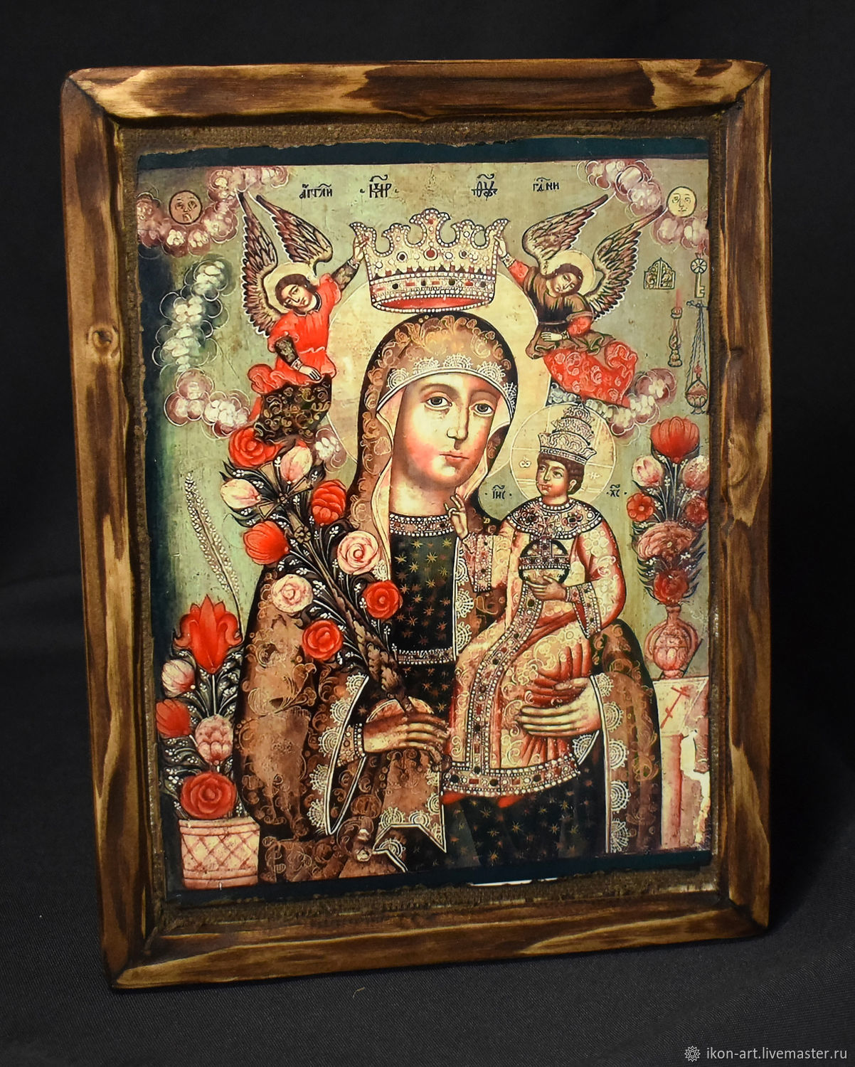 The Icon Of The Mother Of God 'Fadeless Color', Icons, Simferopol,  Фото №1