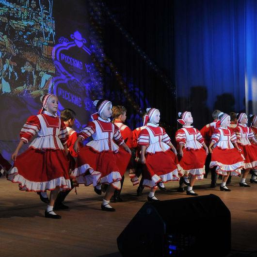 """Танцевальные костюмы ручной работы. Ярмарка Мастеров - ручная работа. Купить """" Русский перепляс"""" детский танец. Handmade."""