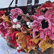 Сумки и аксессуары handmade. Livemaster - original item Felted bag