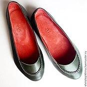 Обувь ручной работы. Ярмарка Мастеров - ручная работа Ажурные Балетки. Handmade.
