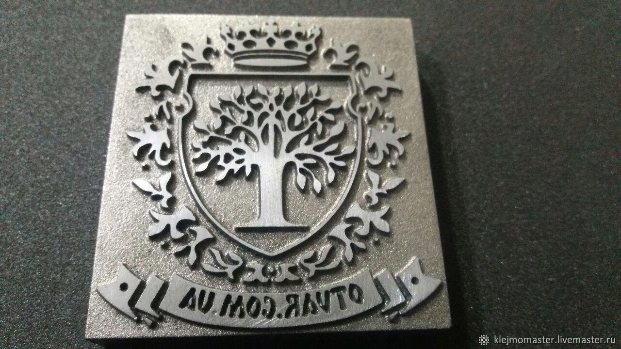 Клеймо по дереву, Атрибутика, Омск, Фото №1