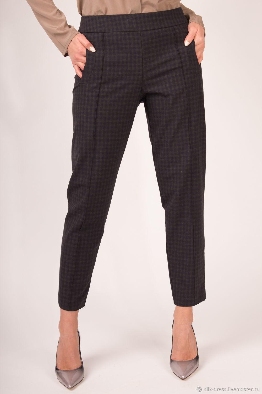 Wool pants plaid, Pants, Moscow,  Фото №1