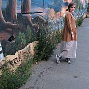 Одежда ручной работы. Ярмарка Мастеров - ручная работа охра пыльное. Handmade.