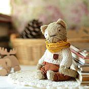 Куклы и игрушки ручной работы. Ярмарка Мастеров - ручная работа Друзья тедди. Кот Тихон. Handmade.