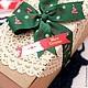 Упаковка ручной работы. Ярмарка Мастеров - ручная работа. Купить Новогодние наклейки. Лист - 8 шт.. Handmade. Наклейки