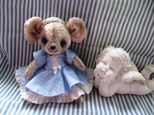 Мишки Тедди ручной работы. Ярмарка Мастеров - ручная работа. Купить Мышка. Handmade. Серый, мышка, синтепух