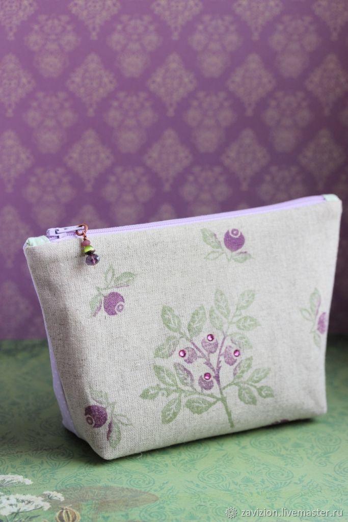 Women's handbag. Cosmetic bag handmade. Cosmetic bag to buy. Handmade