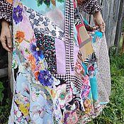 Платья ручной работы. Ярмарка Мастеров - ручная работа Лоскутная одежда платья  и пальто. Handmade.