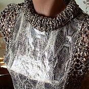 """Одежда ручной работы. Ярмарка Мастеров - ручная работа Джемпер """"Кожа змеи"""". Handmade."""