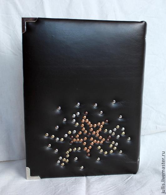 Блокноты ручной работы. Ярмарка Мастеров - ручная работа. Купить Блокнот ручной работы. Handmade. Черный, блокнот в подарок, кожзаменитель