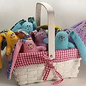 Куклы и игрушки ручной работы. Ярмарка Мастеров - ручная работа Братцы-кролики. Handmade.