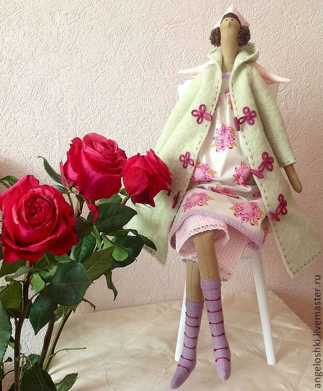 Autumn angel, Tilda Dolls, Moscow,  Фото №1