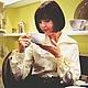 """Блузки ручной работы. Блузка стилизованная """"Полоска белая, полоска красная"""". Анна-Лиза (Мода вне времени ТМ). Ярмарка Мастеров."""
