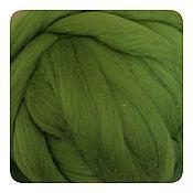 Материалы для творчества handmade. Livemaster - original item Merino 18 microns Green peas .50 gr.. Handmade.