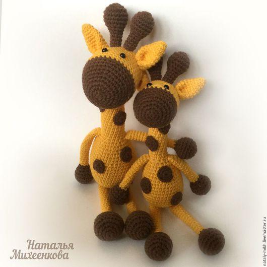 Игрушки животные, ручной работы. Ярмарка Мастеров - ручная работа. Купить Вязаный жирафик. Handmade. Вязание крючком, игрушка для детей