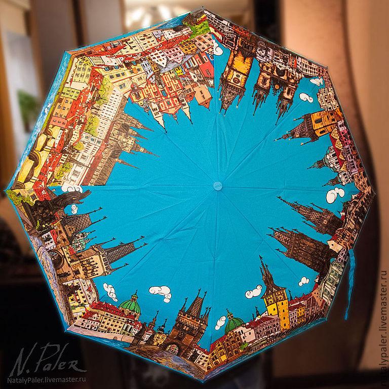 Umbrella 'Zlata Praha', Umbrellas, Moscow,  Фото №1
