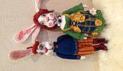 Куклы и игрушки ручной работы. Ярмарка Мастеров - ручная работа Куклы валяные. Handmade.