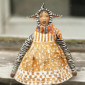 Подарки к праздникам ручной работы. Ярмарка Мастеров - ручная работа Ватная игрушка на ёлку Зебра. Handmade.