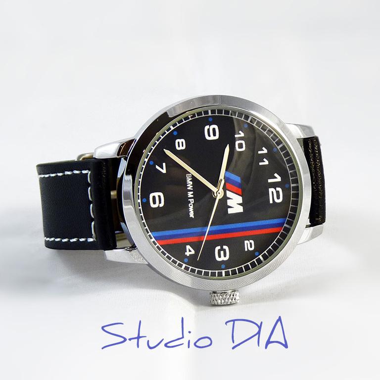 Часы наручные bmw m power выбор кварцевых наручных часов