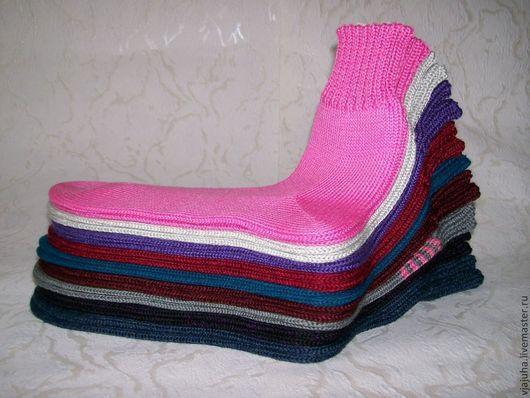 Носки, Чулки ручной работы. Ярмарка Мастеров - ручная работа. Купить носки полушерстяные. Handmade. Вязаные носки, модные носки
