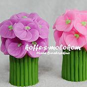 Материалы для творчества handmade. Livemaster - original item Silicone molds for soap High bouquet of pansies. Handmade.