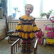 """Работы для детей, ручной работы. Ярмарка Мастеров - ручная работа Платье детское """"Пчелка"""". Handmade."""