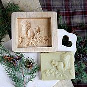 Для дома и интерьера ручной работы. Ярмарка Мастеров - ручная работа Форма для пряников белка в подарок на кухню. Handmade.