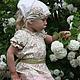 """Одежда для девочек, ручной работы. Ярмарка Мастеров - ручная работа. Купить Платье для девочки """"Яблоневый цвет"""" family look, лен, хлопок,. Handmade."""