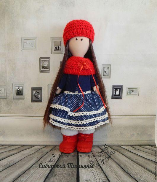 Коллекционные куклы ручной работы. Ярмарка Мастеров - ручная работа. Купить Кукла интерьерная из ткани. Handmade. Кукла ручной работы
